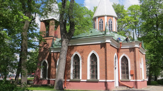 Готическая церковь Рождества Иоанна Предтече в Санкт-Петербурге