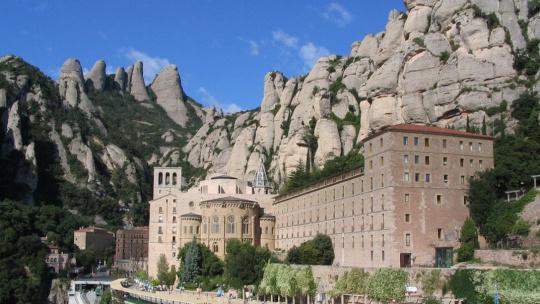Монастырь Монсеррат по Барселоне