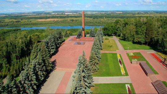 Парк Победы  в Уфе