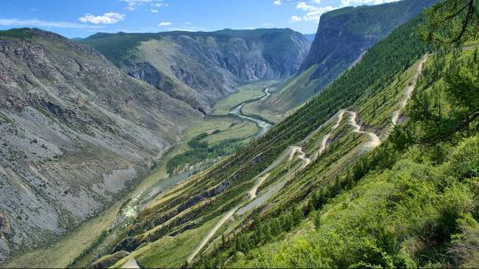 Перевал Кату-Ярык по Горно-Алтайску
