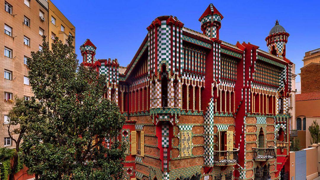 Неизвестный Антонио Гауди в Барселоне