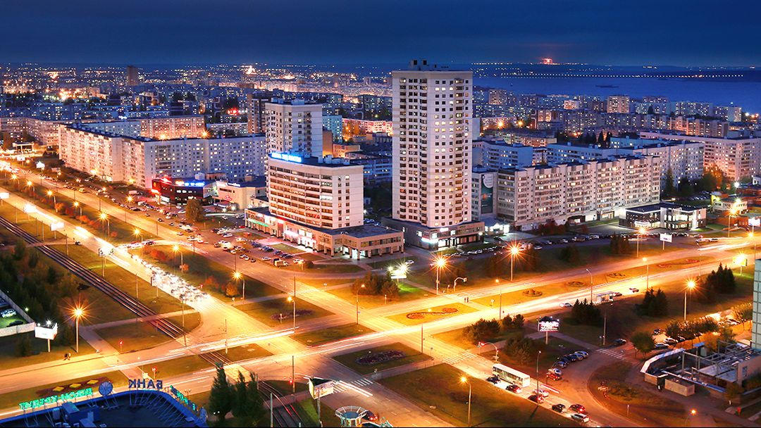 Ночной Иркутск - фото 3