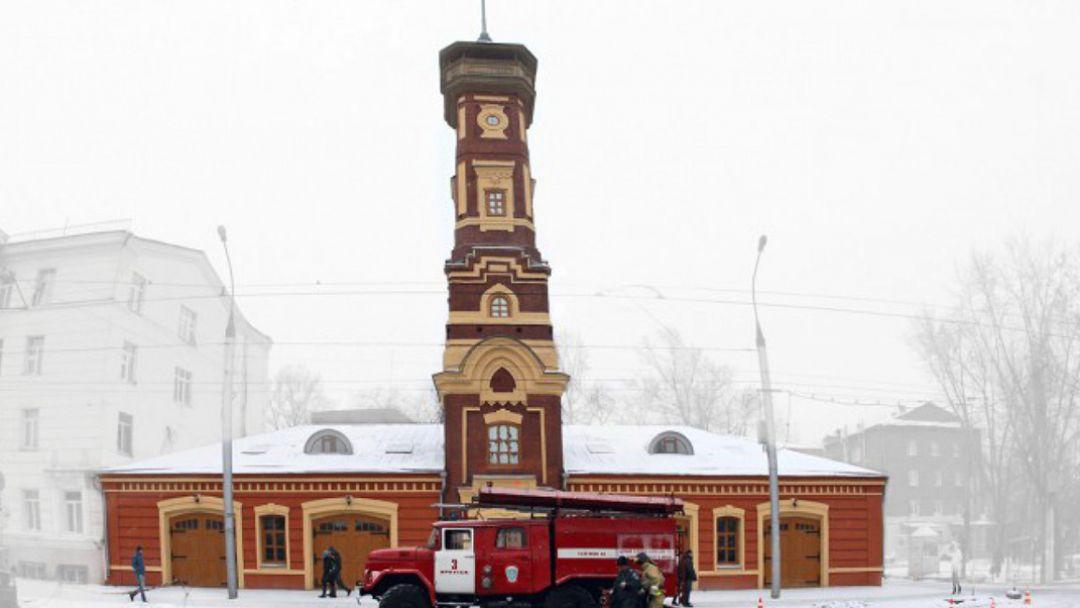 Музей пожарной охраны в Иркутске
