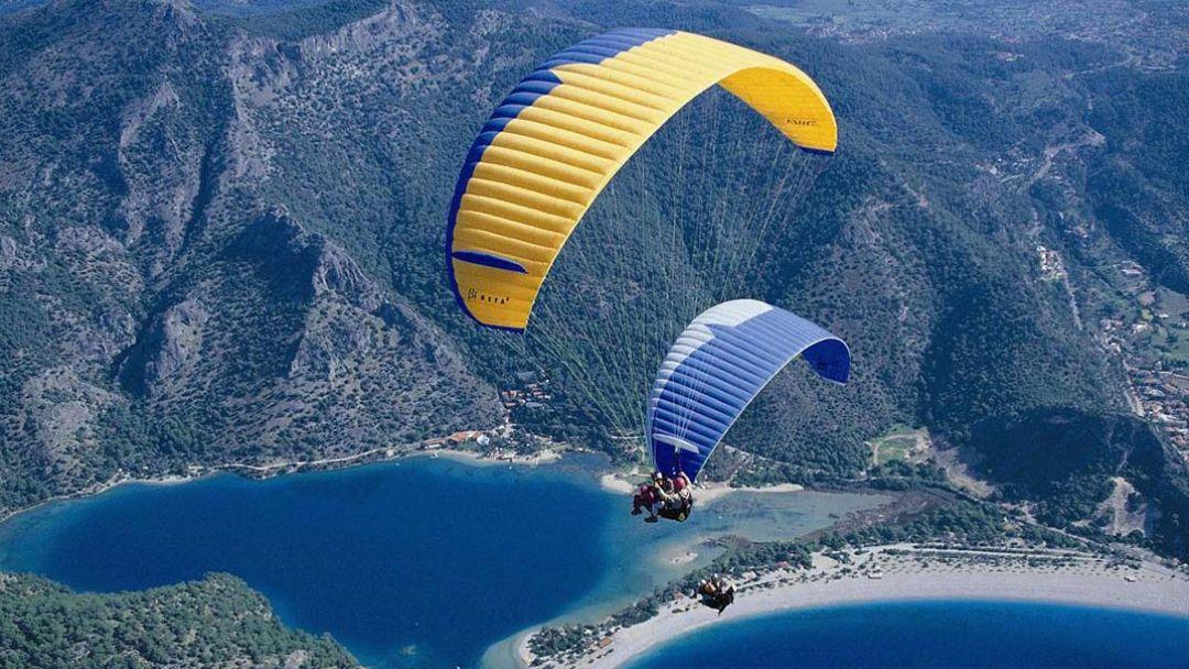 Полеты на параплане в Коктебеле - фото 2