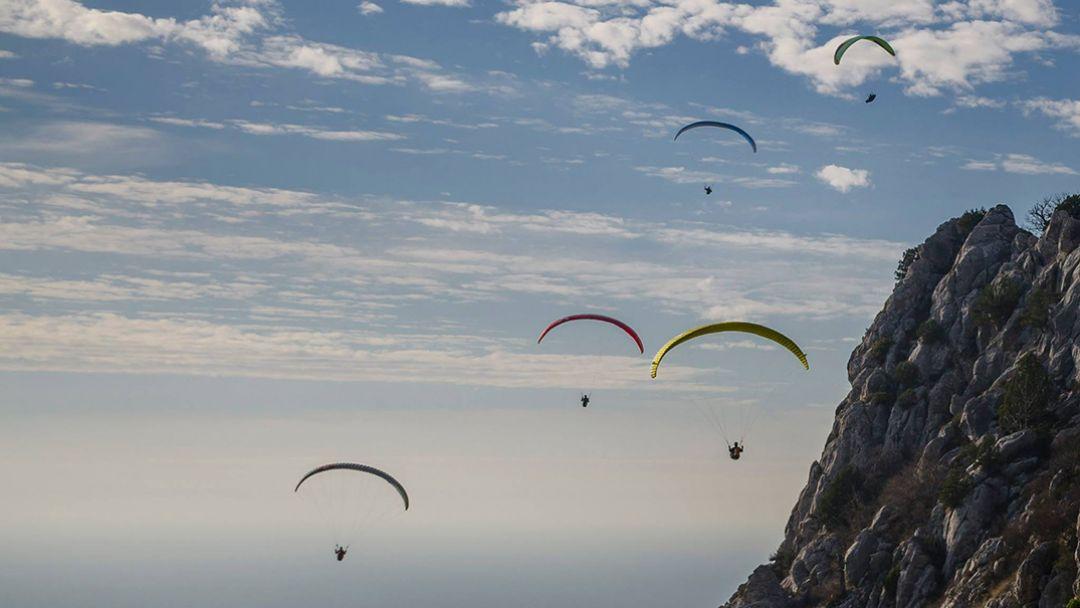 Полеты на параплане в Коктебеле - фото 3