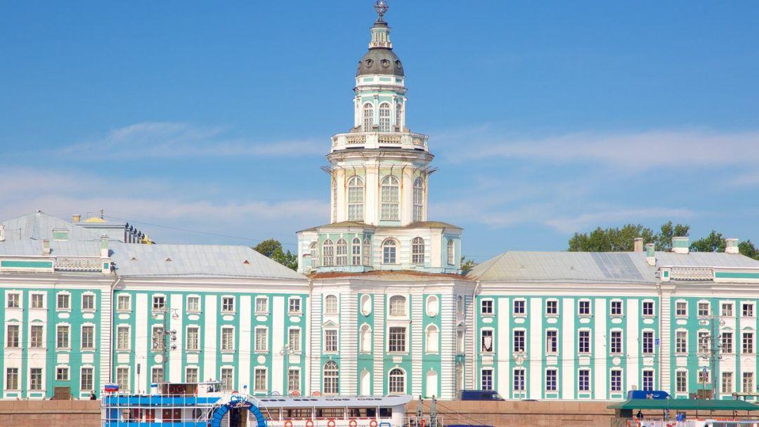Обзорная по городу с посещением Кунсткамеры - фото 1
