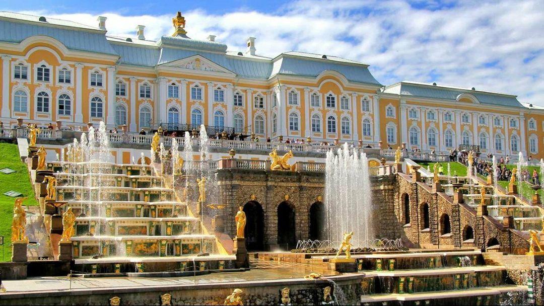 Петергоф. Большой дворец - фото 1
