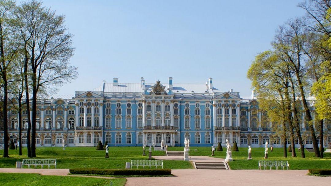 Пушкин (Царское Село) Екатерининский дворец, Янтарная комната - фото 1