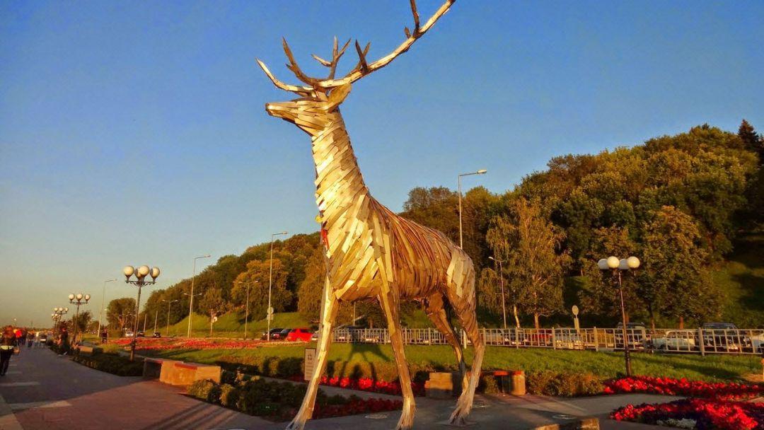 Обзорная по Нижнему Новгороду ПАЗЛ