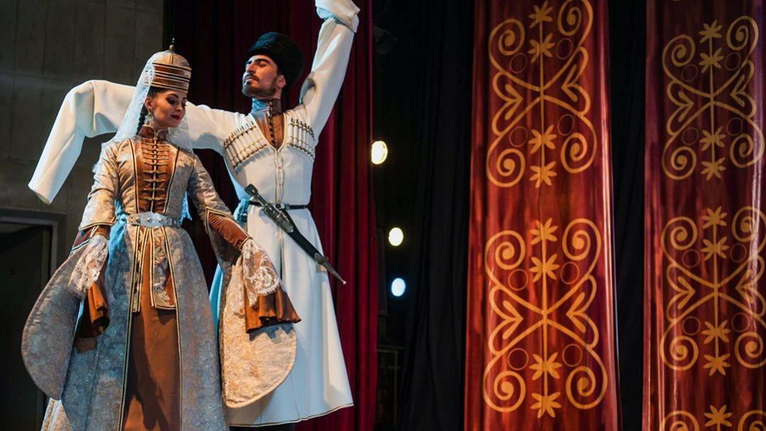 Театрализованное представление в Черкесском ауле - фото 4