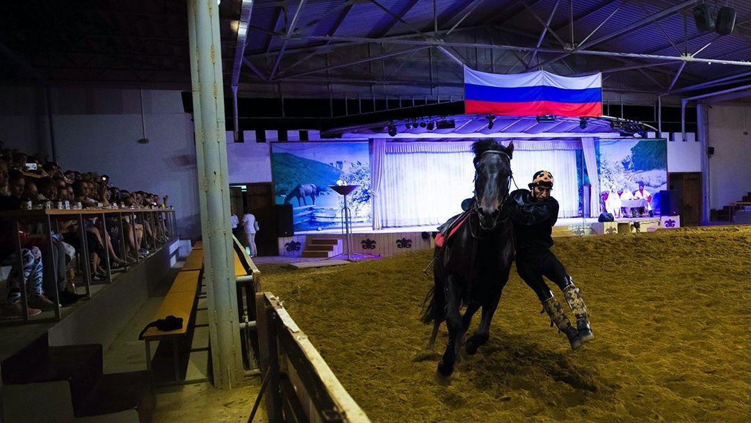 Театрализованное представление в Черкесском ауле - фото 7