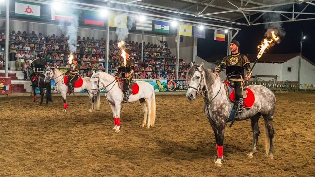 Театрализованное представление в Черкесском ауле - фото 11