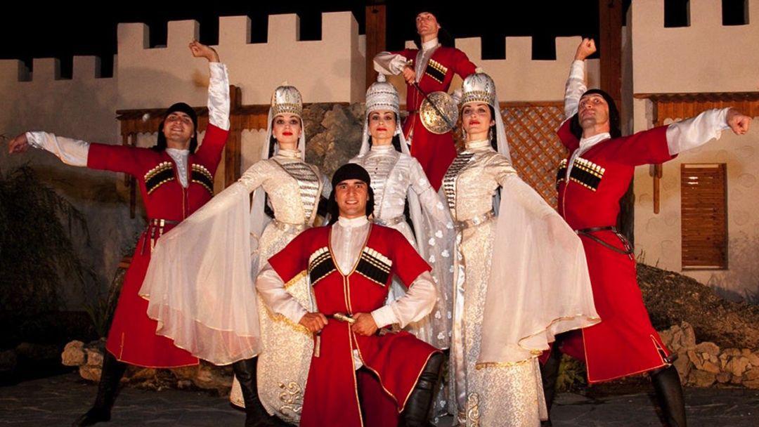Театрализованное представление в Черкесском ауле - фото 12