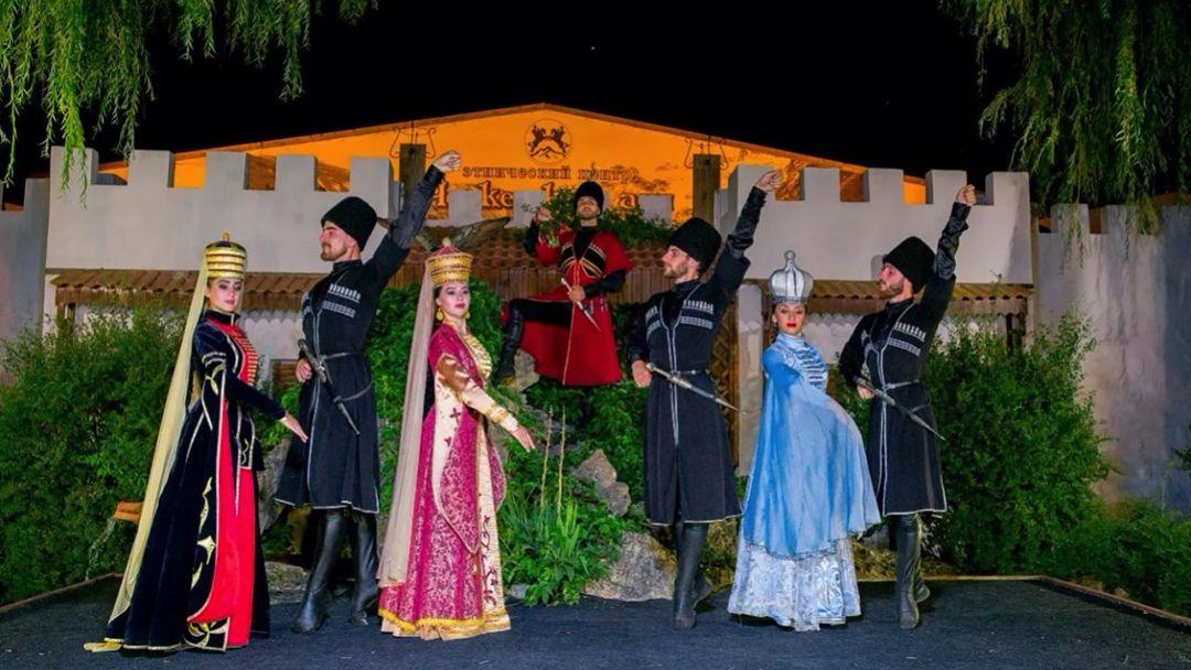 Театрализованное представление в Черкесском ауле - фото 13