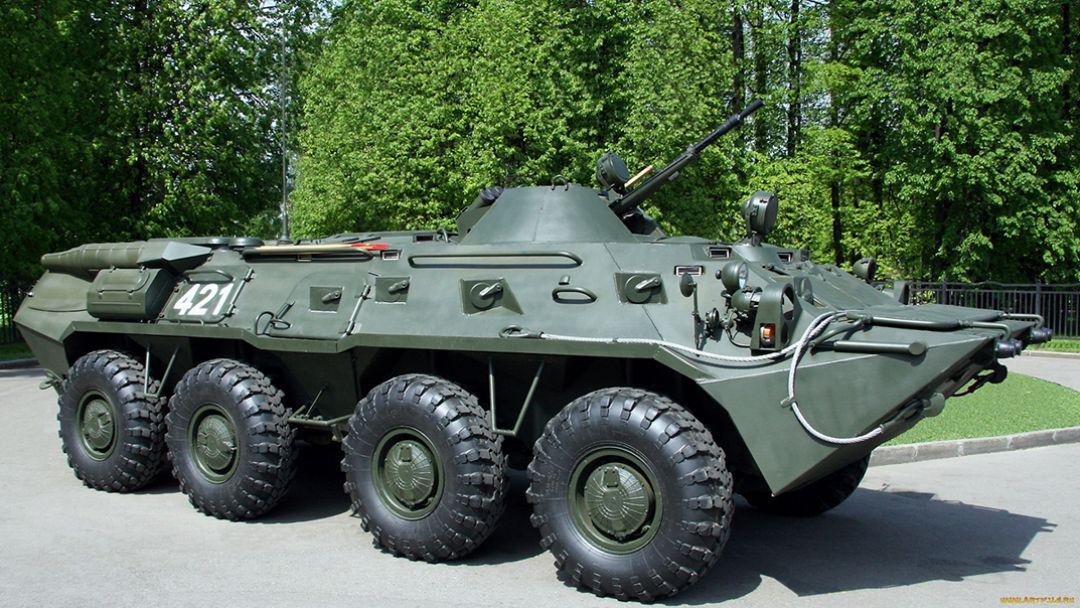 Катание на бронетехнике БТР-80 - фото 2