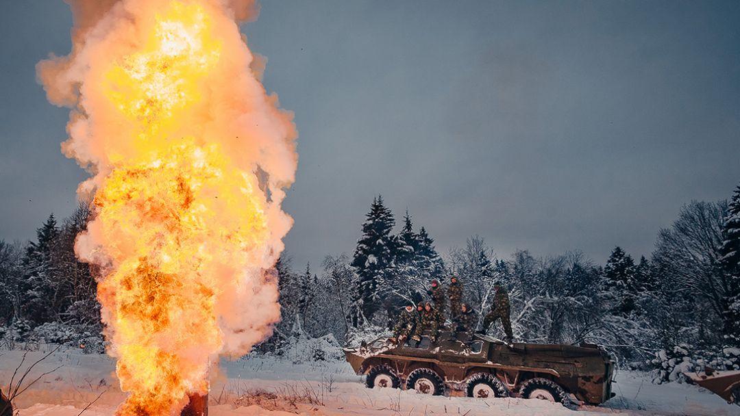 Катание на бронетехнике БТР-80 - фото 4