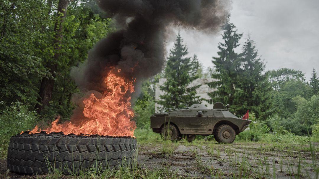 Катание на танке Т-62М - фото 2