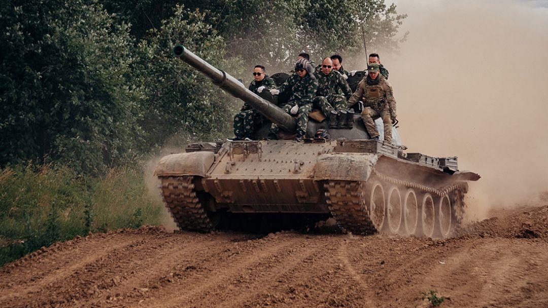 Катание на Танке Т-80 - фото 2