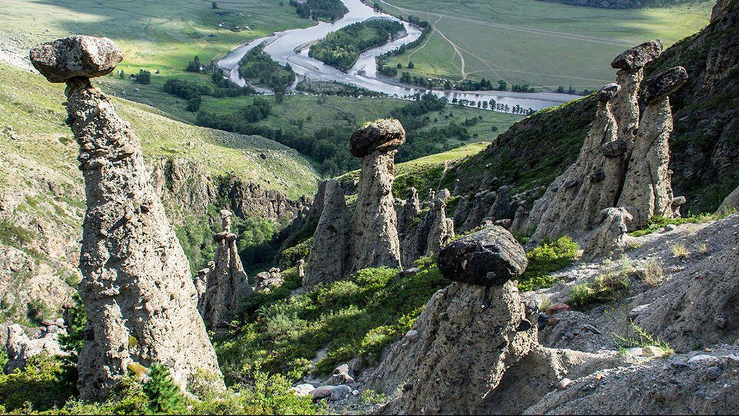 Каменные грибы Чулышманской долины - фото 3