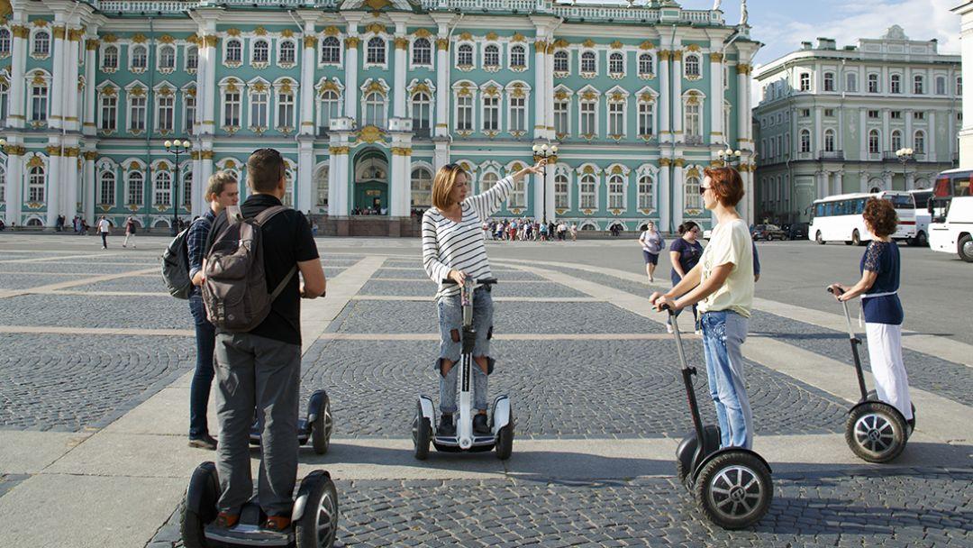 Тематическая на сегвее - Революционный Петербург в Санкт-Петербурге