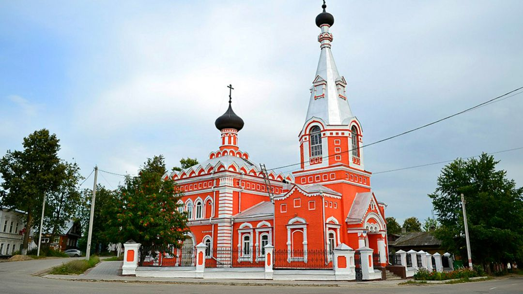 Семёнов — центр золотой хохломской росписи! в Нижнем Новгороде