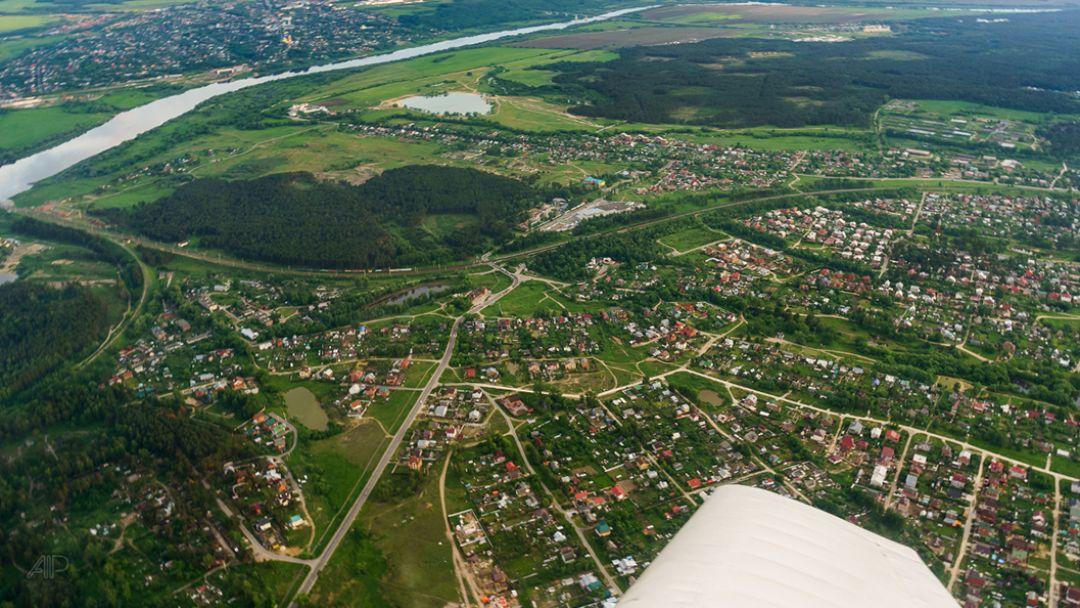 Воздушная экскурсия по маршруту Коломна - фото 1
