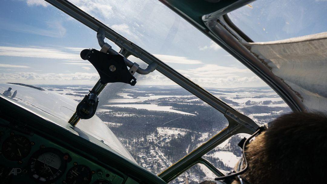 Прогулки на вертолете в Москве