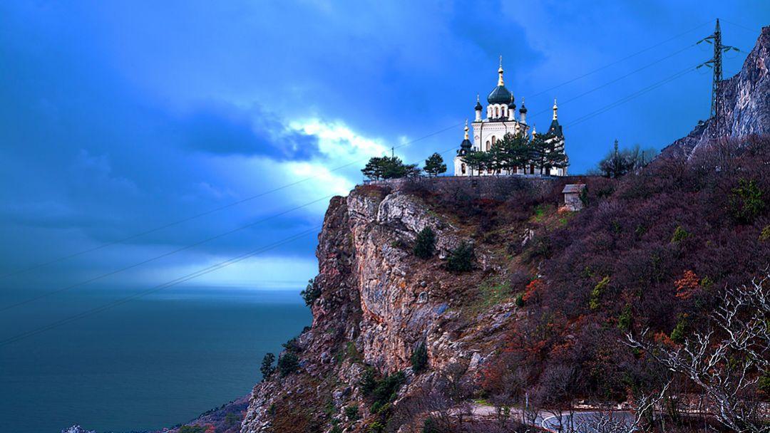 Байдарские ворота – Ласпинский перевал - Форосская церковь – имение чайного магната Кузнецова – отдых в парке - фото 3