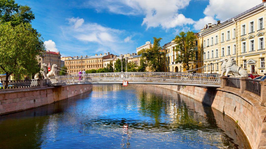Большая обзорная экскурсия по СПб: на автобусе и теплоходе в Санкт-Петербурге