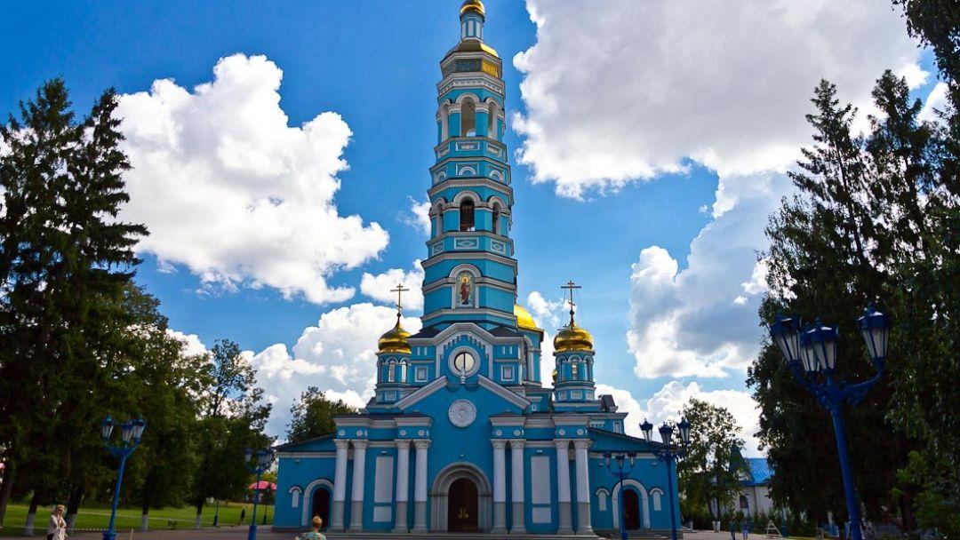 Уфа - восточная точка Европы (зима) - фото 7