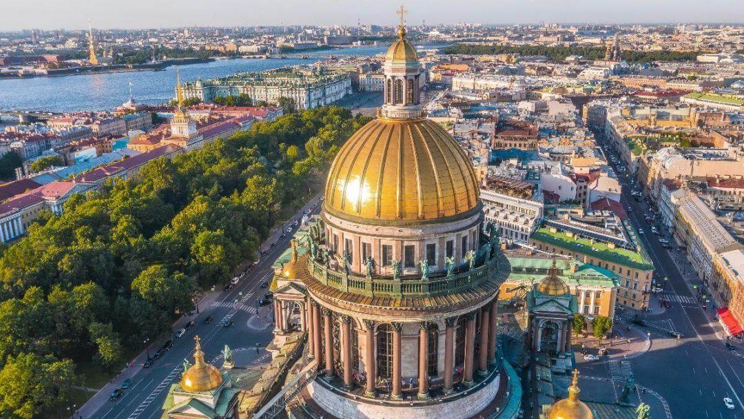 Автобусная экскурсия по Санкт-Петербургу с посещением Петропавловской крепости  в Санкт-Петербурге