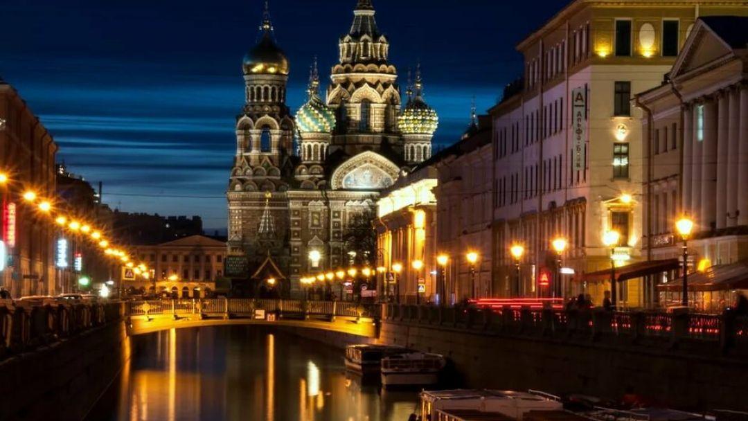 экскурсия Ночной Петербург с теплоходной прогулкой на разводку мостов - фото 1