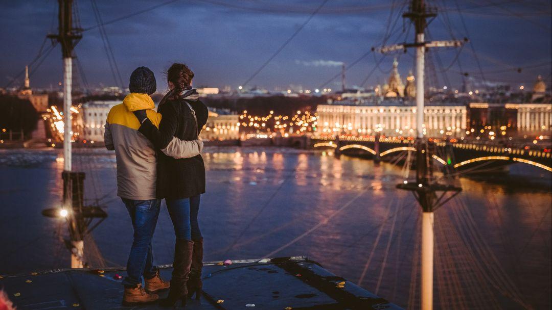 Фотосессия на крышах Санкт-Петербурга. в Санкт-Петербурге