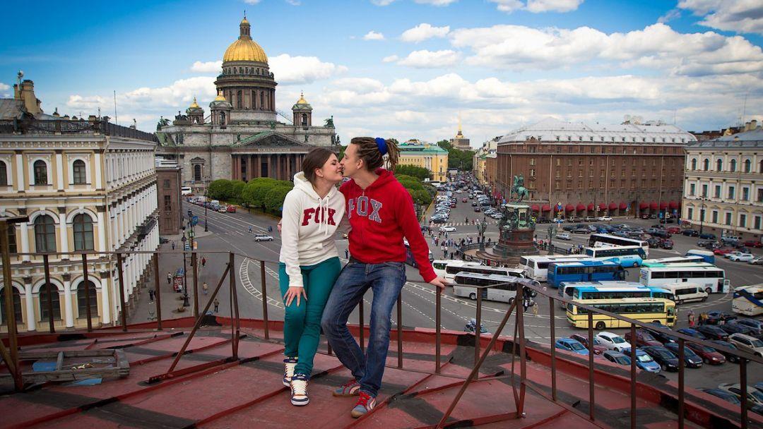 Фотосессия на крышах Санкт-Петербурга. - фото 2
