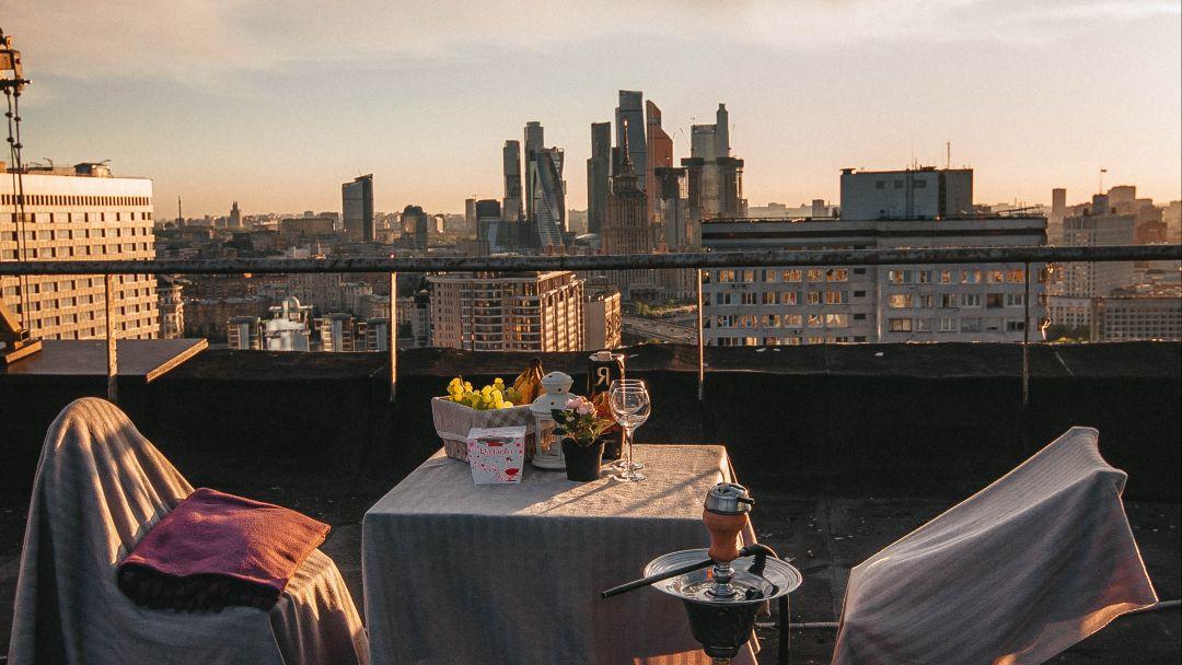 Романтическое свидание на крыше Москвы. - фото 2