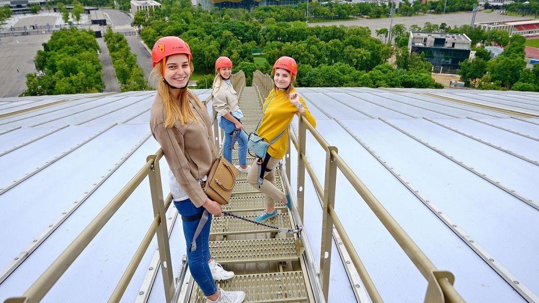 Экскурсия по крыше стадиона Лужники + прогулка. - фото 1