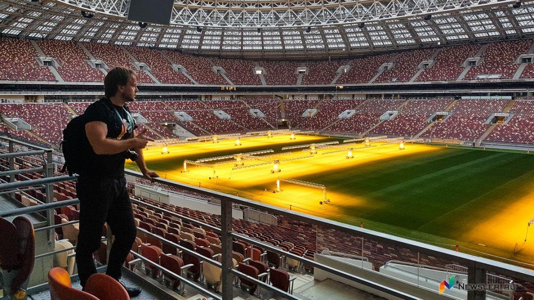Экскурсия по крыше стадиона Лужники + прогулка. - фото 3