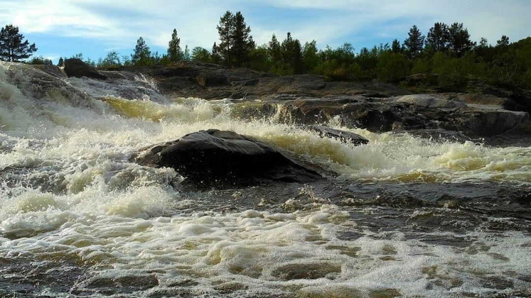 Кольские водопады - фото 3