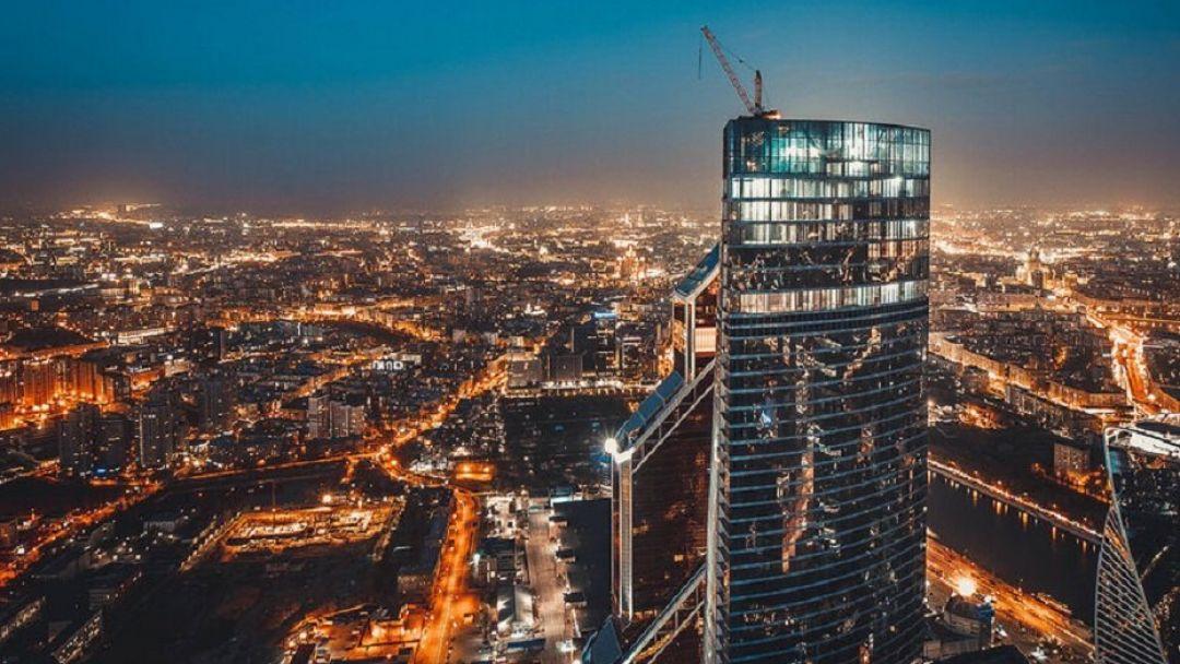Смотровая площадка Москва Сити  - ВЫШЕ ТОЛЬКО ЛЮБОВЬ        - фото 3