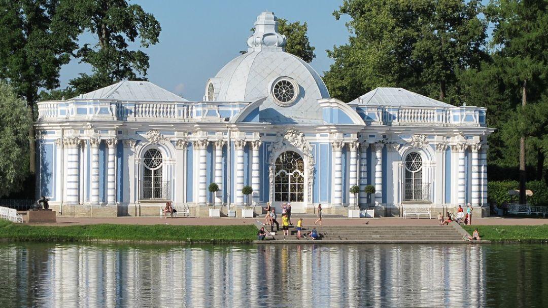 Пушкин (Екатерининский парк, Дворец и Янтарная комната) в Санкт-Петербурге