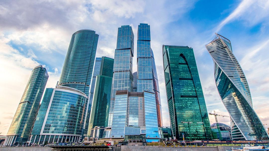 Смотровая площадка Москва Сити  - ВЫШЕ ТОЛЬКО ЛЮБОВЬ        в Москве