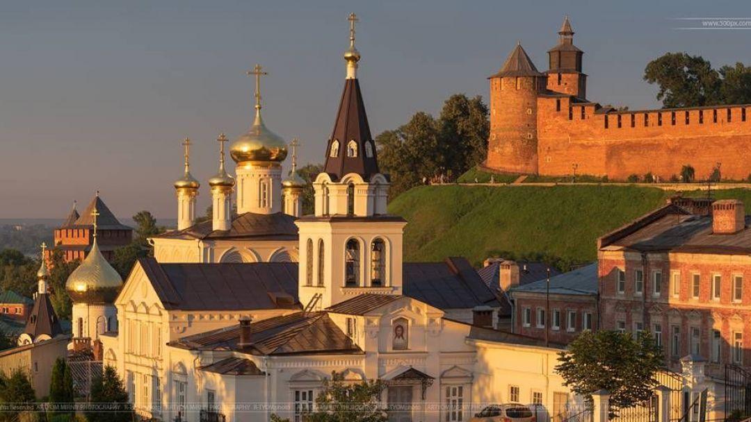 Обзорная автобусно-пешеходная экскурсия по Нижнему Новгороду  в Нижнем Новгороде