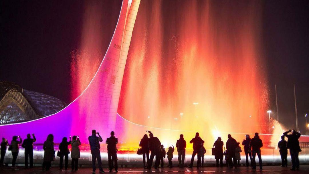 Вечерний Олимпийский парк - фото 4