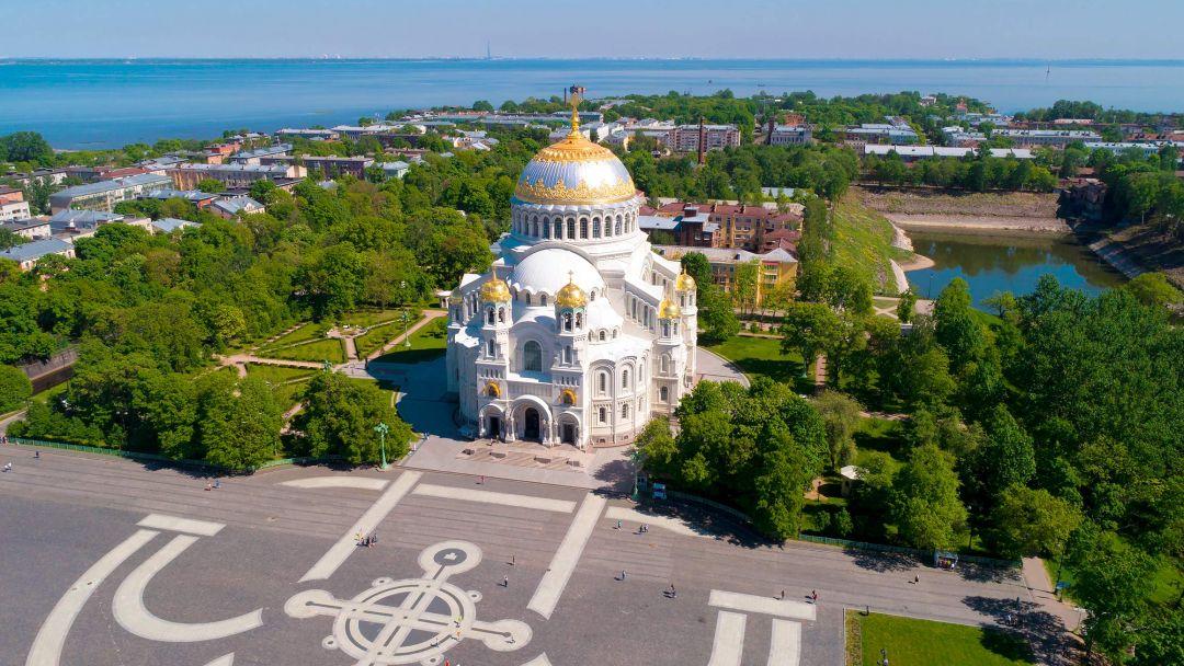 Кронштадт с посещением Морского Собора. в Санкт-Петербурге