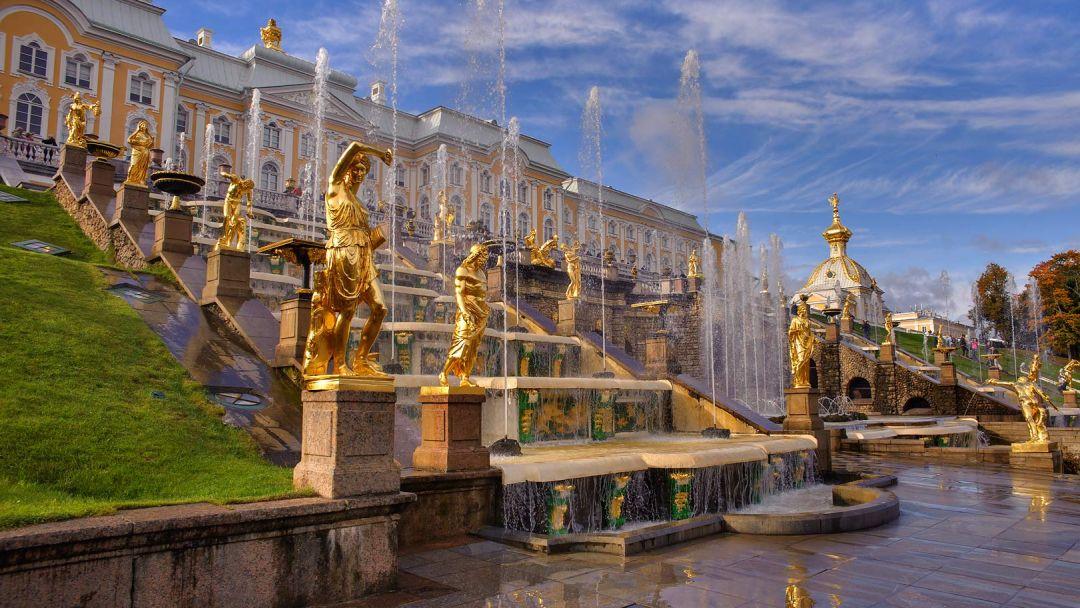 Петергоф с Большим дворцом  - фото 3