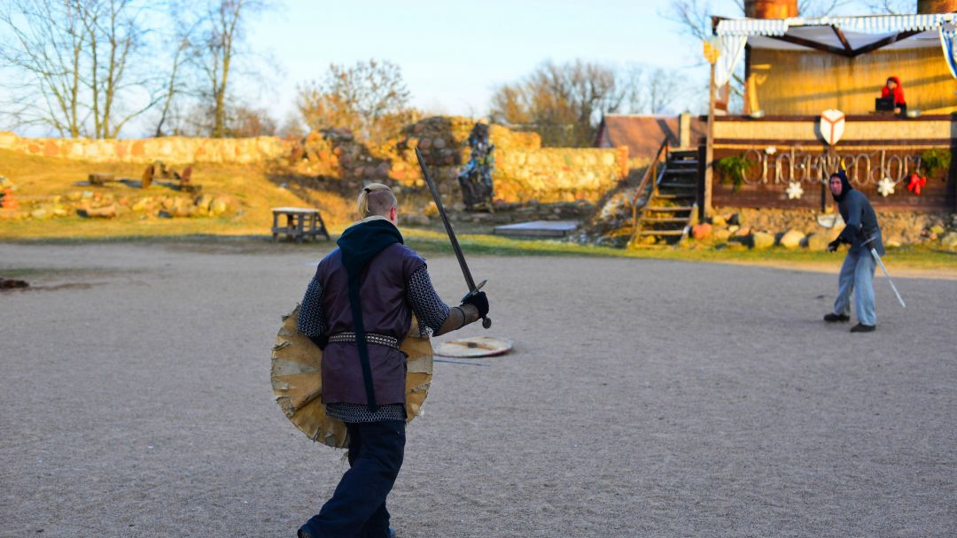 Зимний фестиваль рыцарских напитков в замке «Шаакен» (1, 4 и 7 января) + огненно-пиротехническое шоу - фото 7