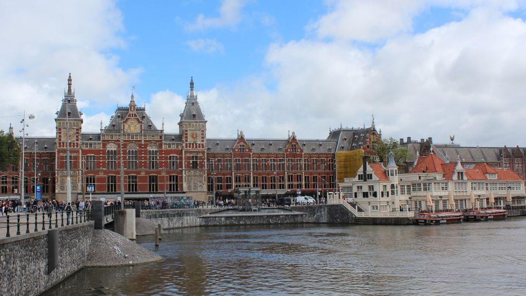 Онлайн-прогулка по центру Амстердама в реальном времени - фото 2