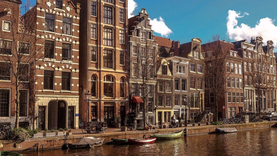 Онлайн-прогулка по центру Амстердама в реальном времени - фото 3