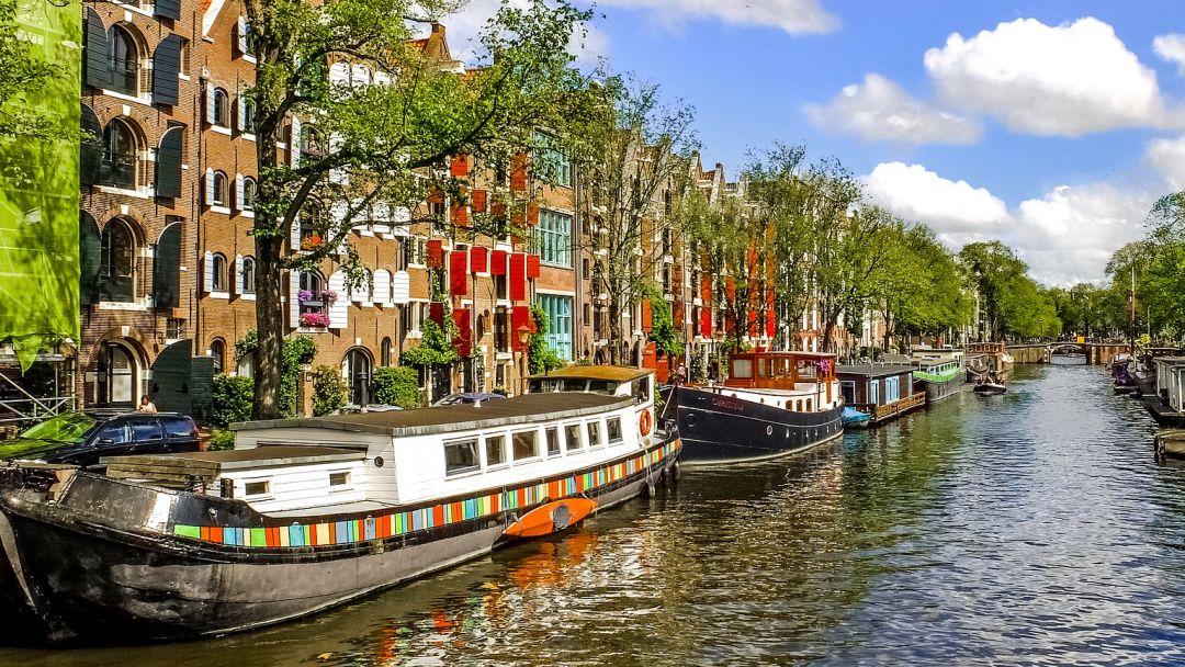 Онлайн-прогулка по центру Амстердама в реальном времени - фото 4