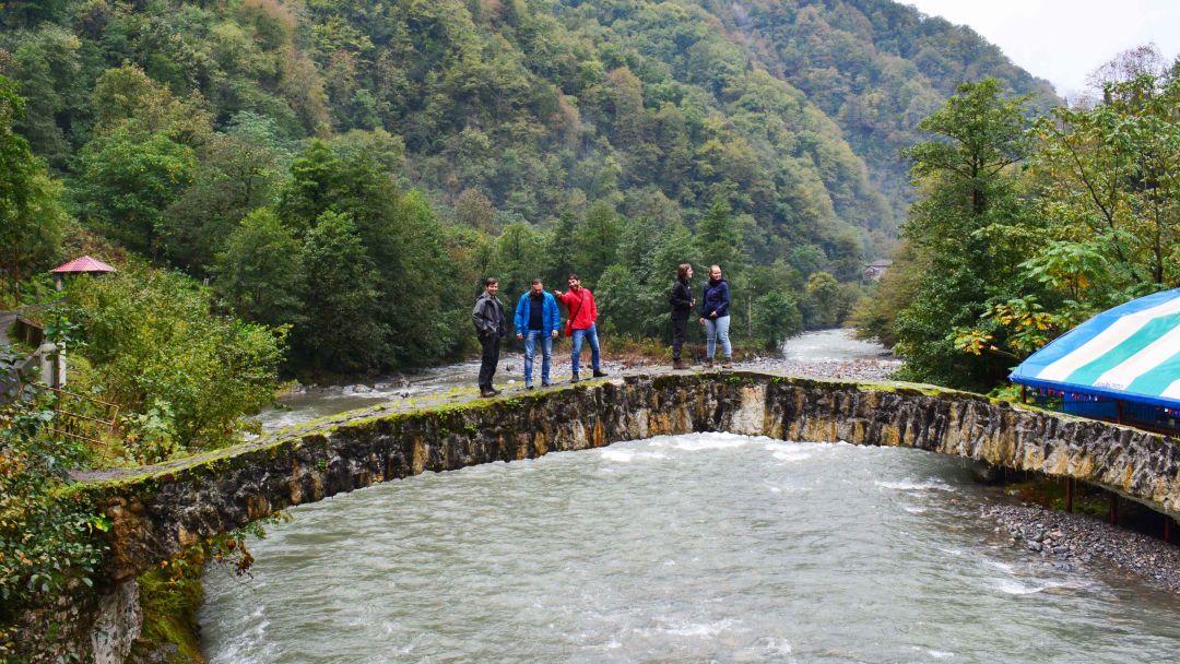 Самый удивительный уголок Европы — горная Аджария. Ущелье Мачахела - фото 5
